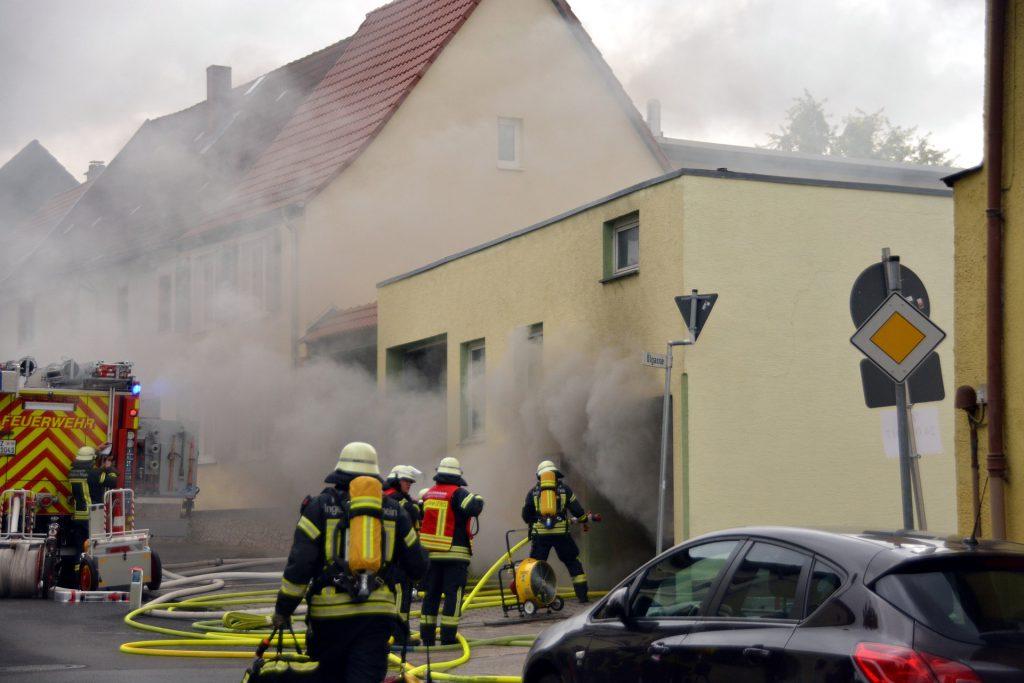 Symbolfoto Feuerwehr Brand