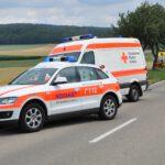 Auffahrunfall mit verletzter Person