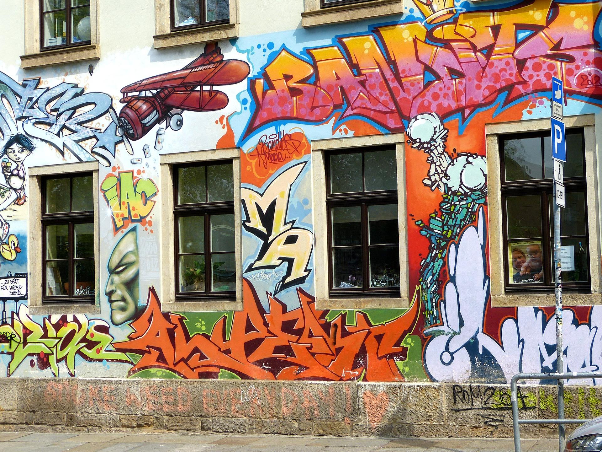Symbolfoto Graffiti