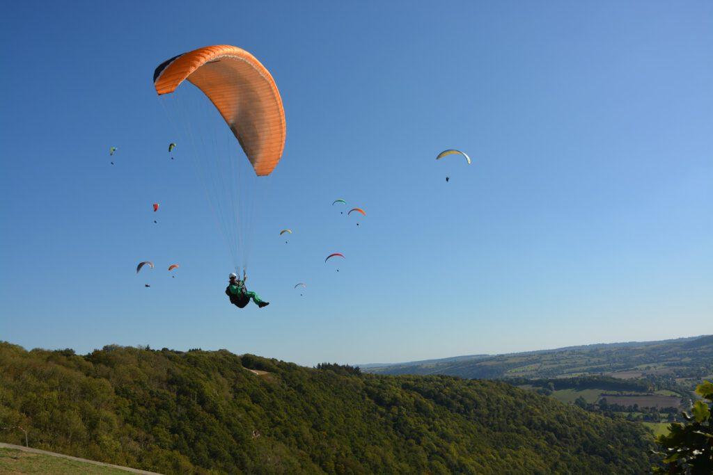 Symboldfoto Gleitschirmfliegen