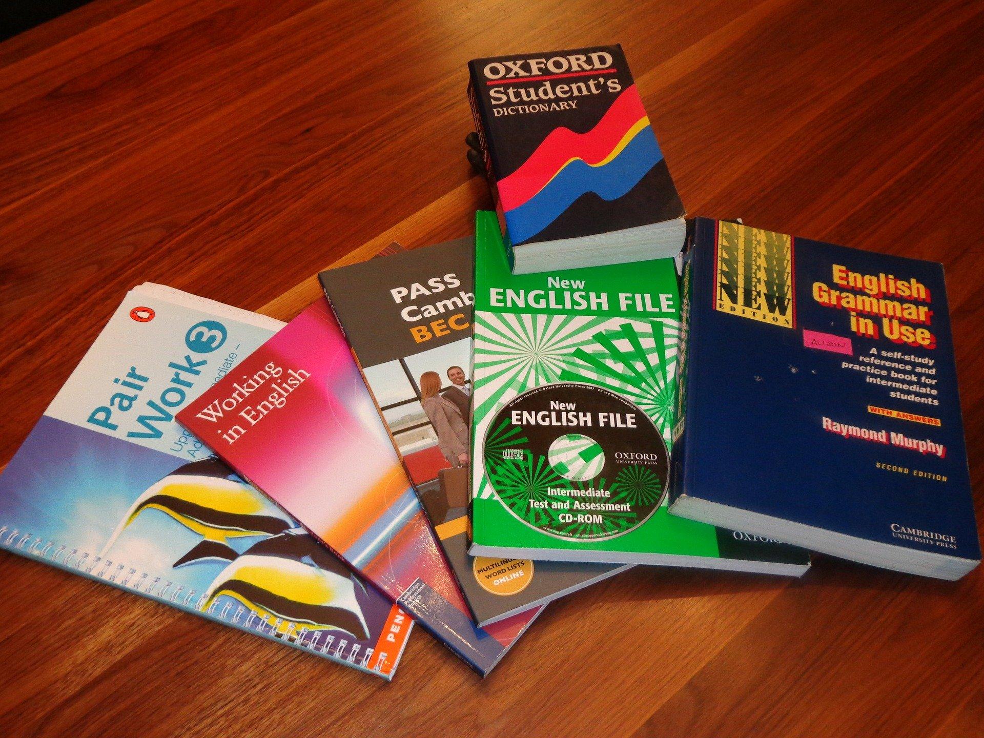 Symbolfoto Schulbücher