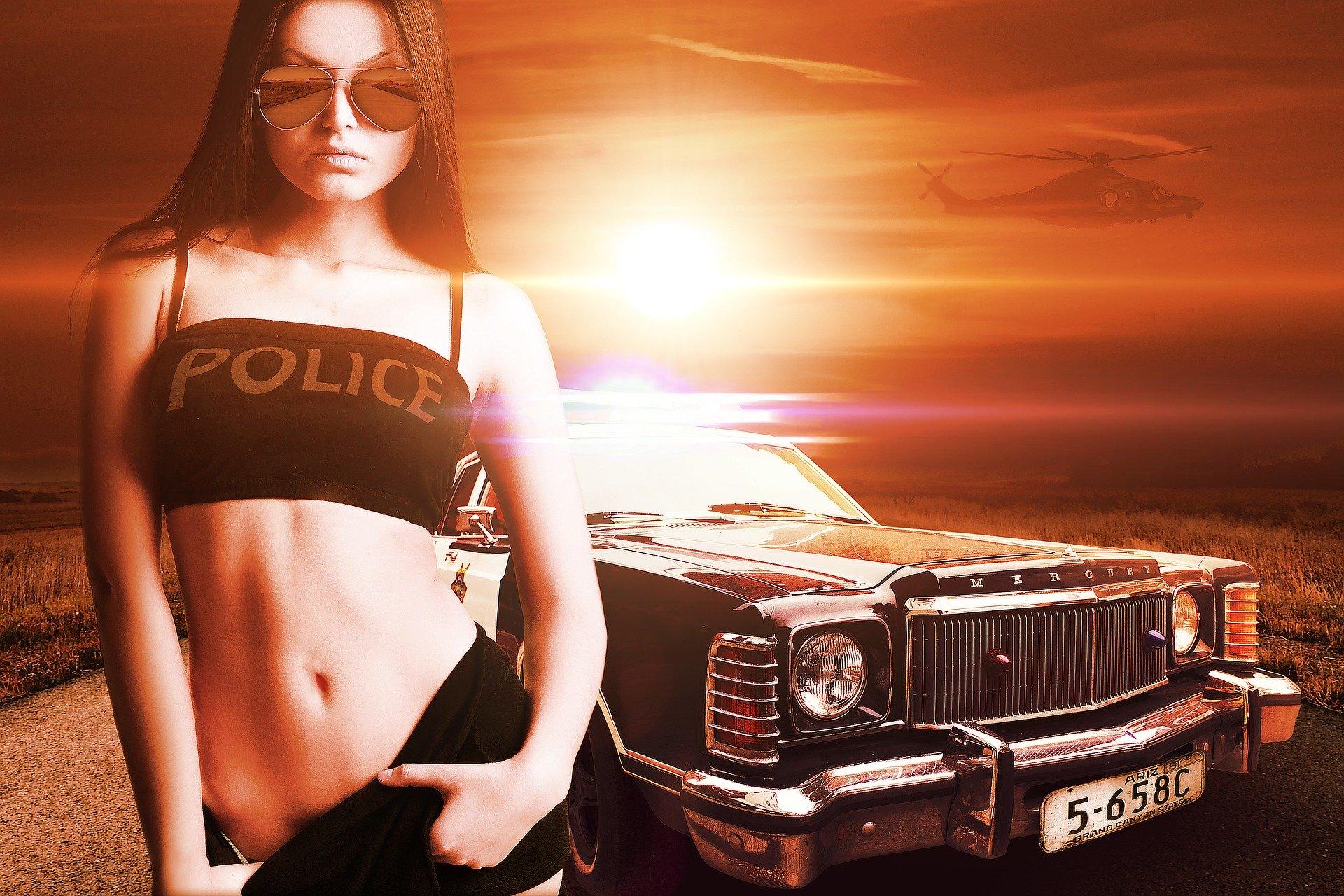 Symbolbild Polizei falsch