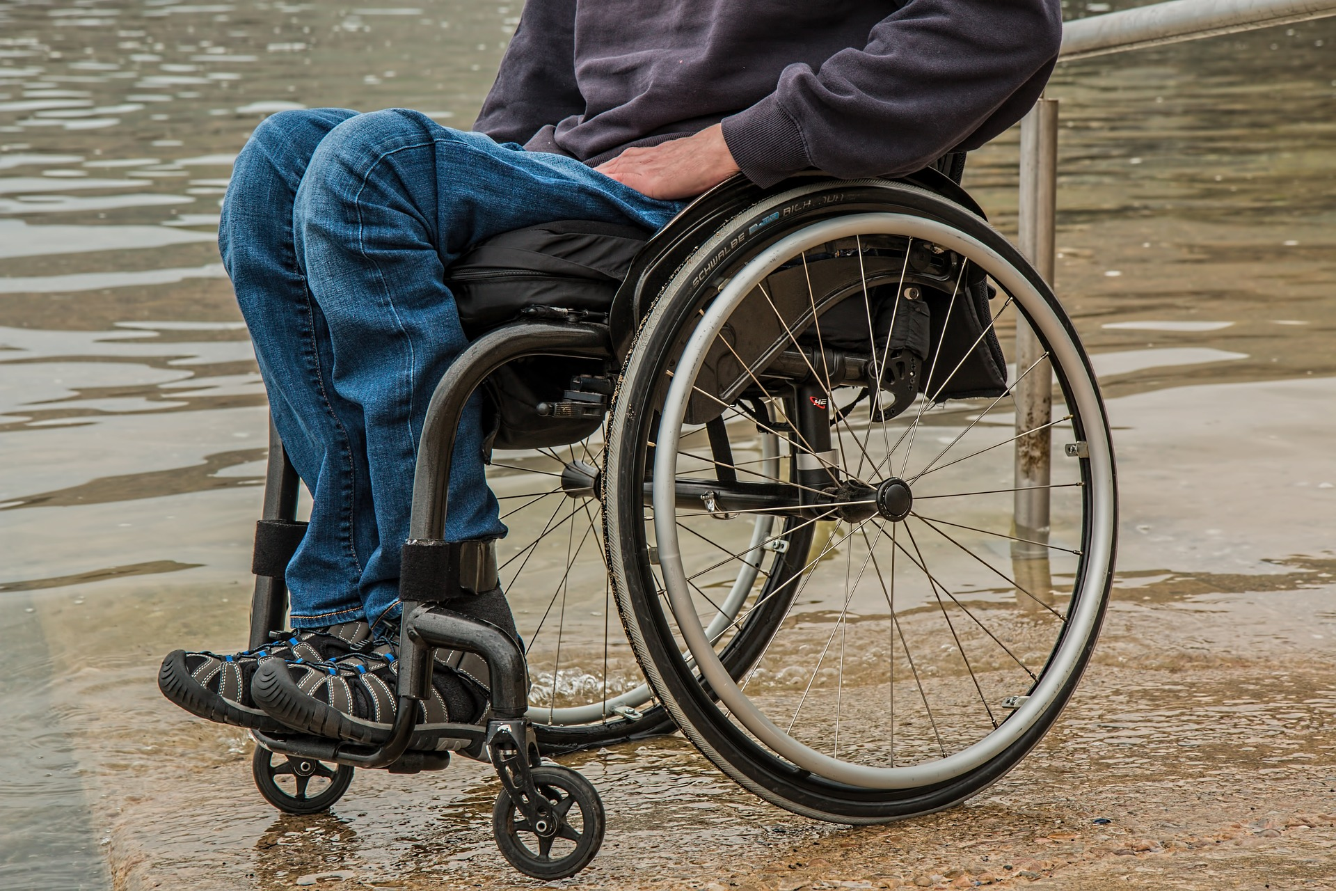 Symbolfoto Behinderung