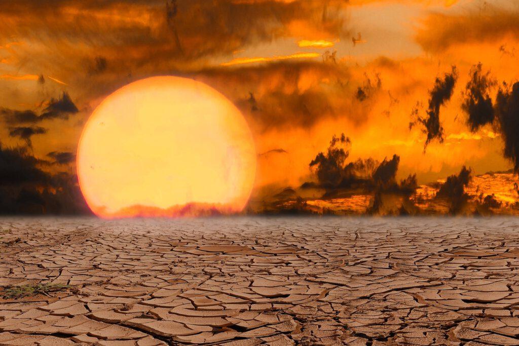 Symbolbild Hitze Sonne Wetter