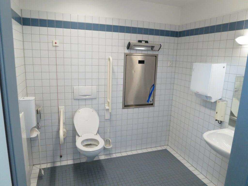 Symbolfoto WC behindertengerecht