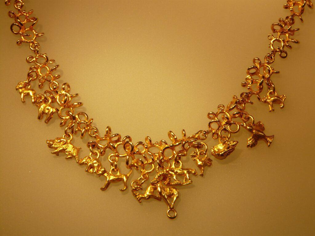 Symbolfoto Goldkette Schmuck