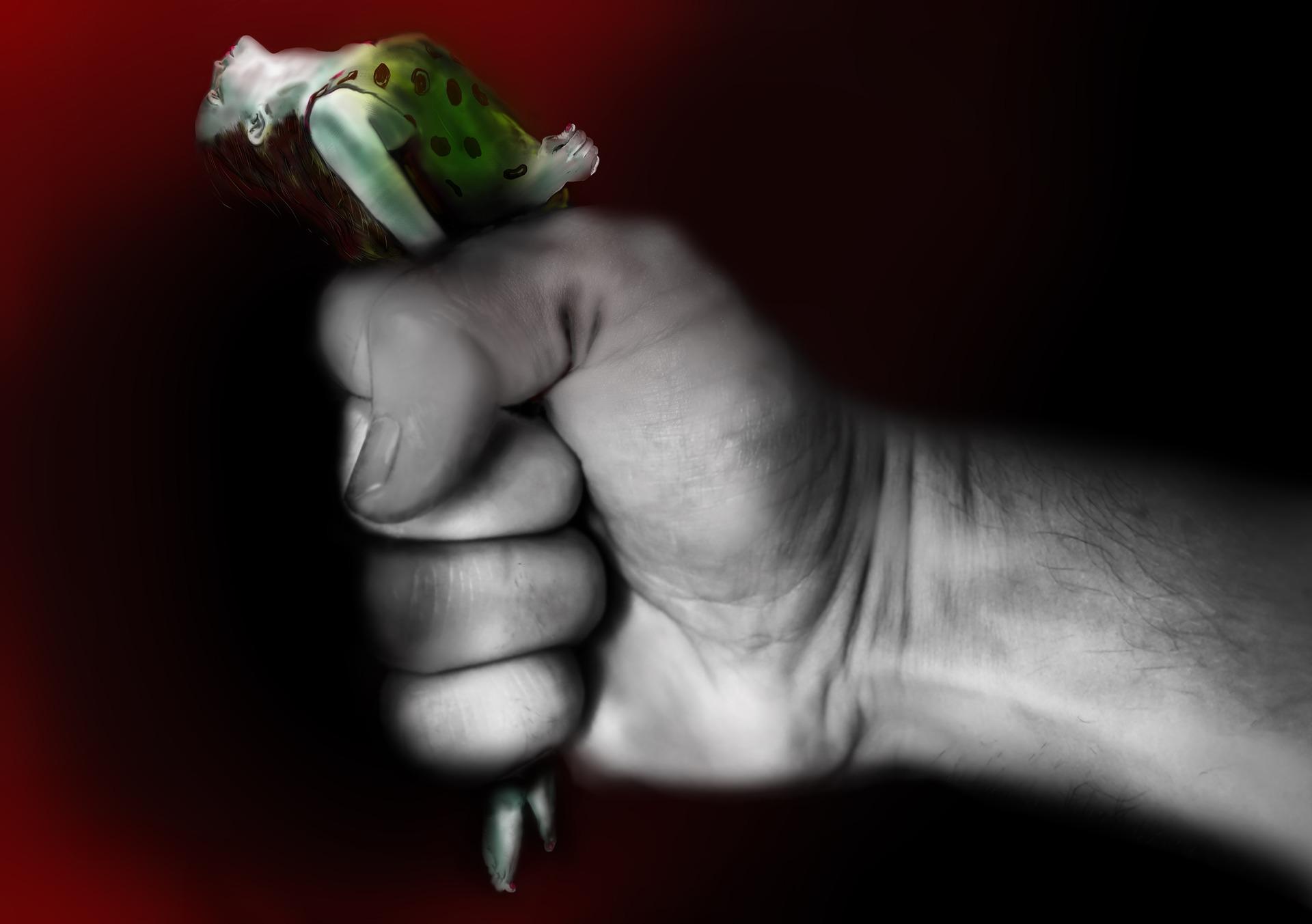 Symbolfoto Gewalt Frau