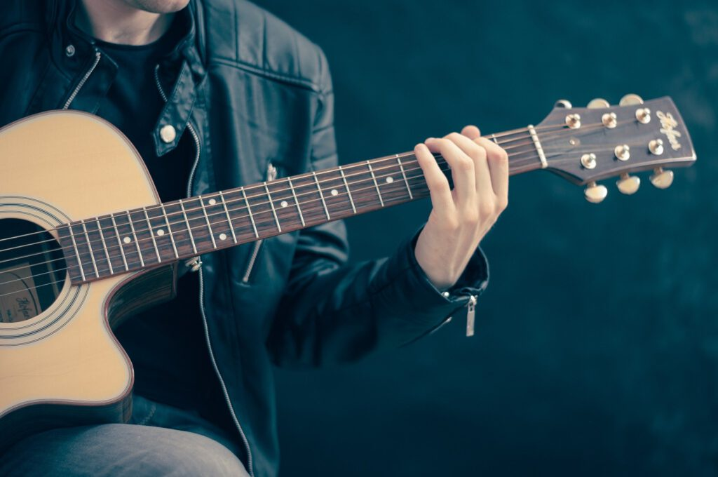 Symbolfoto Musik Gitarre