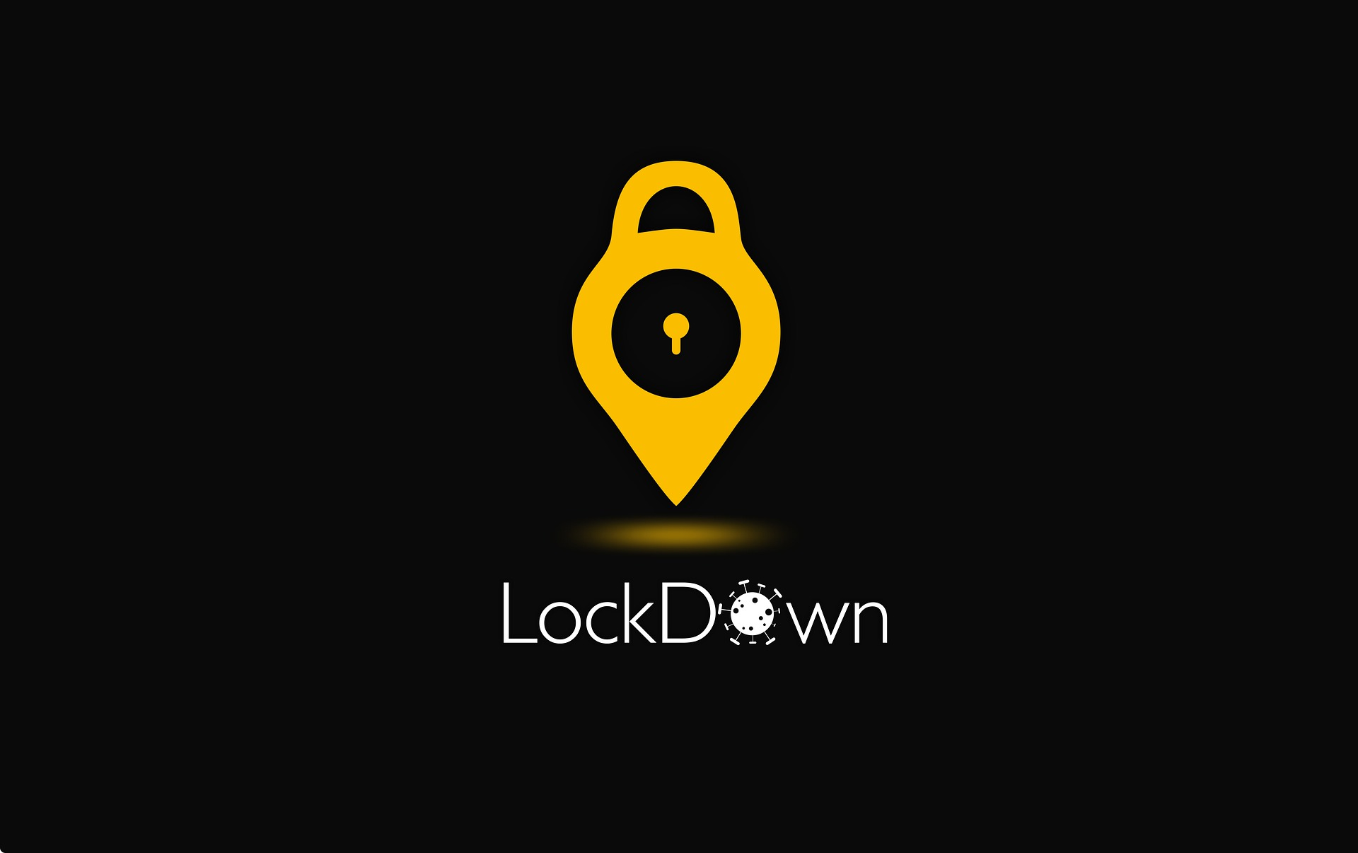 Symbolbild Corona Lockdown