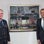 Leiter der Polizeidirektion Wittlich verabschiedet sich von Bürgermeister