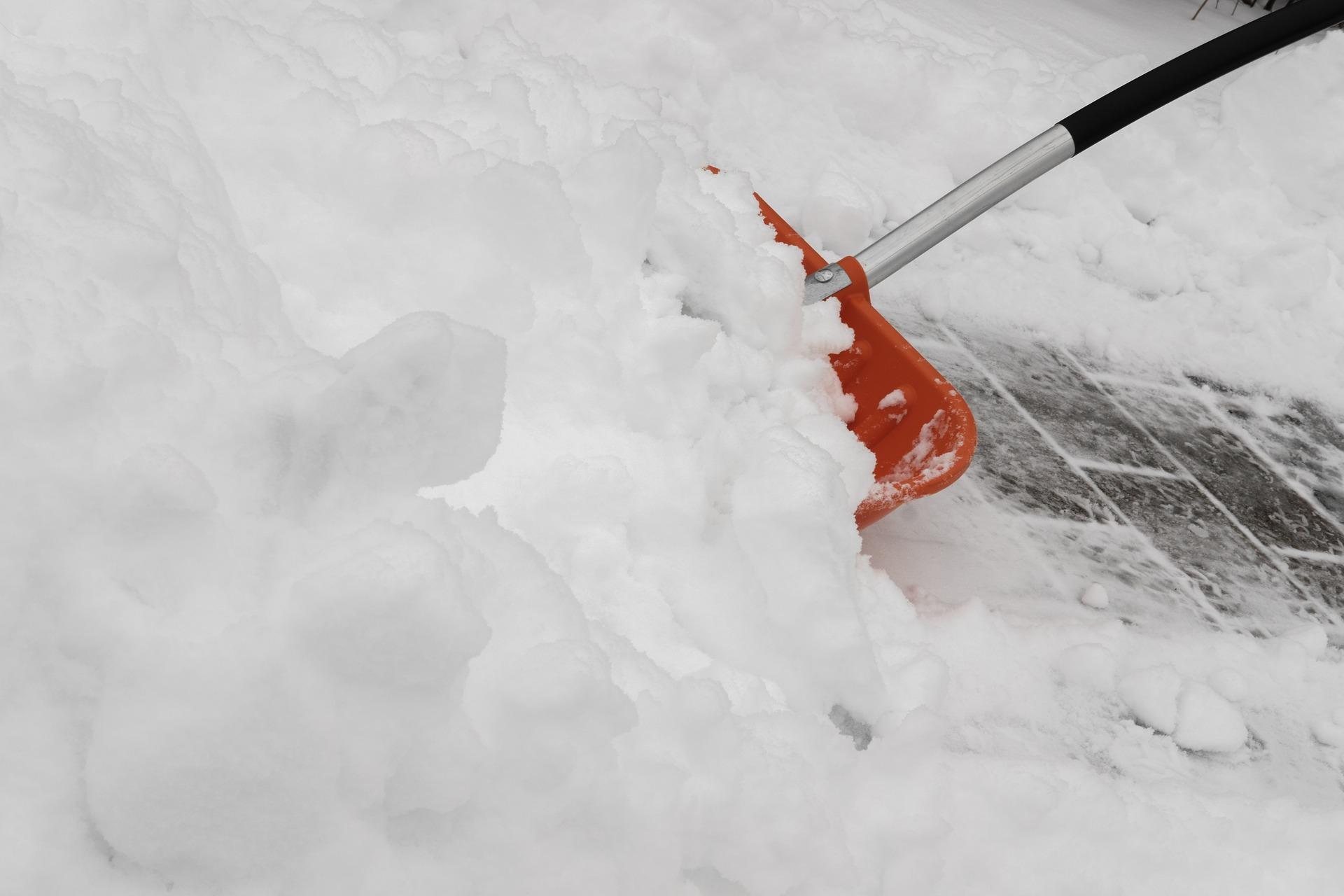 Symbolfoto Räum- und Streupflicht Schnee