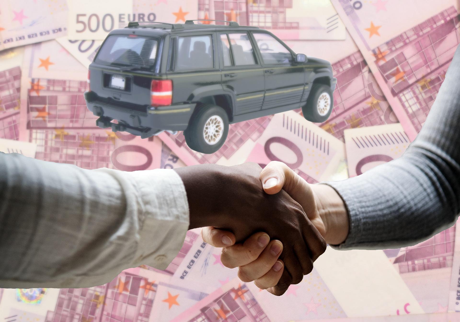 Symbolfoto Gebrauchtwagen Kauf