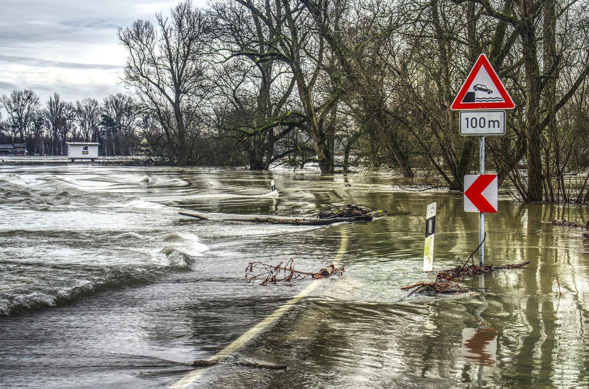 Symbolfoto Hochwasser Starkregen