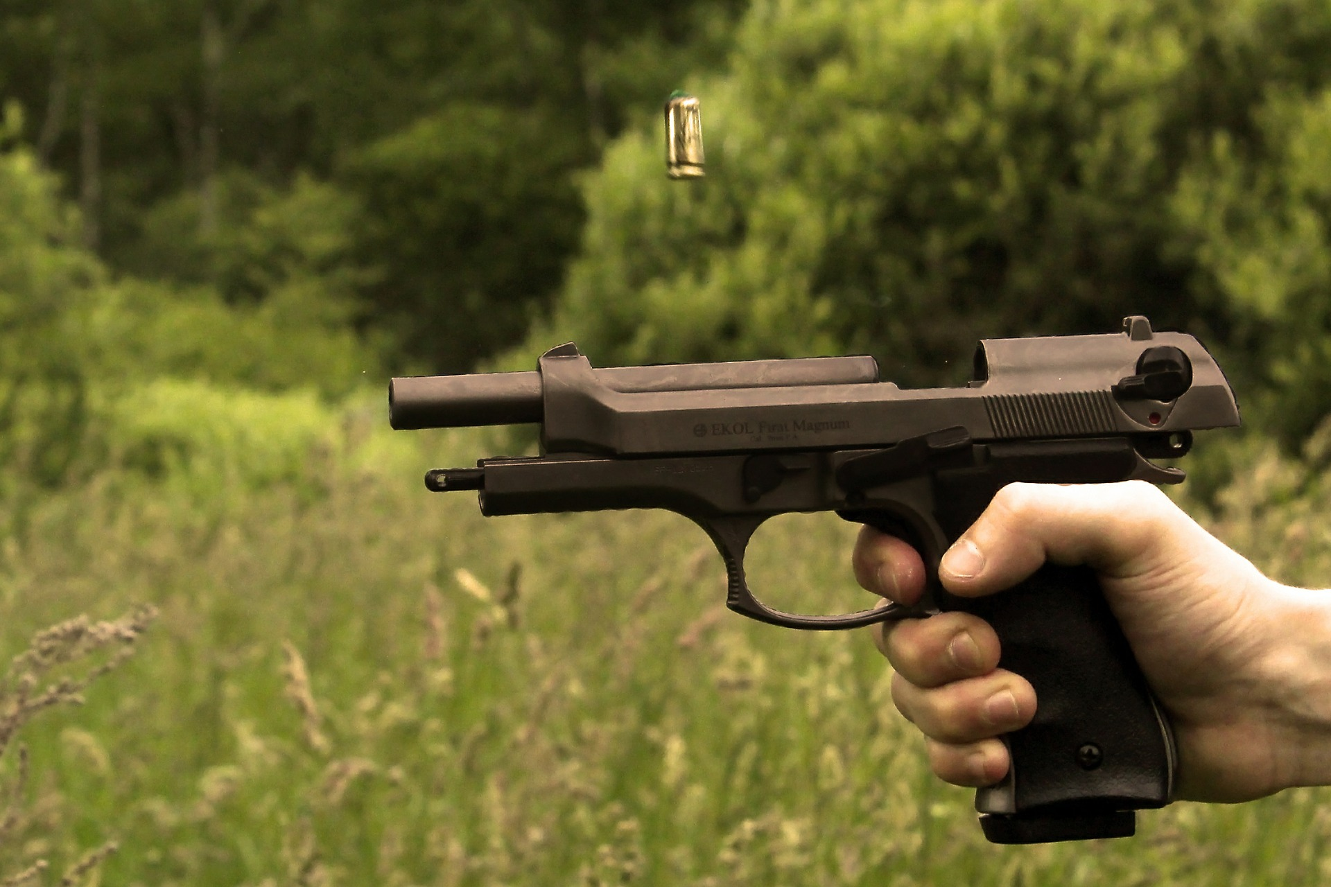 Symbolfoto Waffe