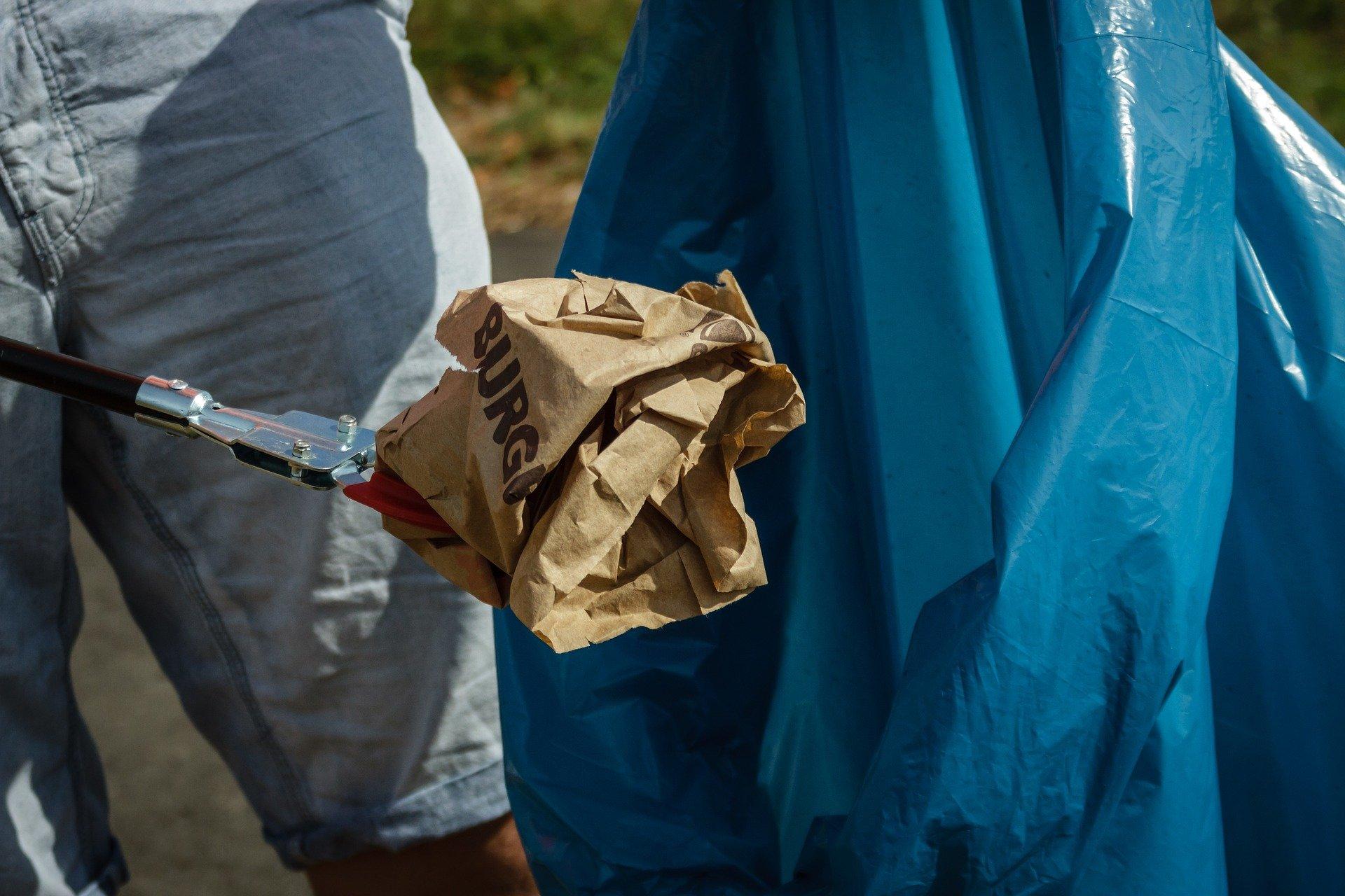 Symbolfoto Müllsammelaktion