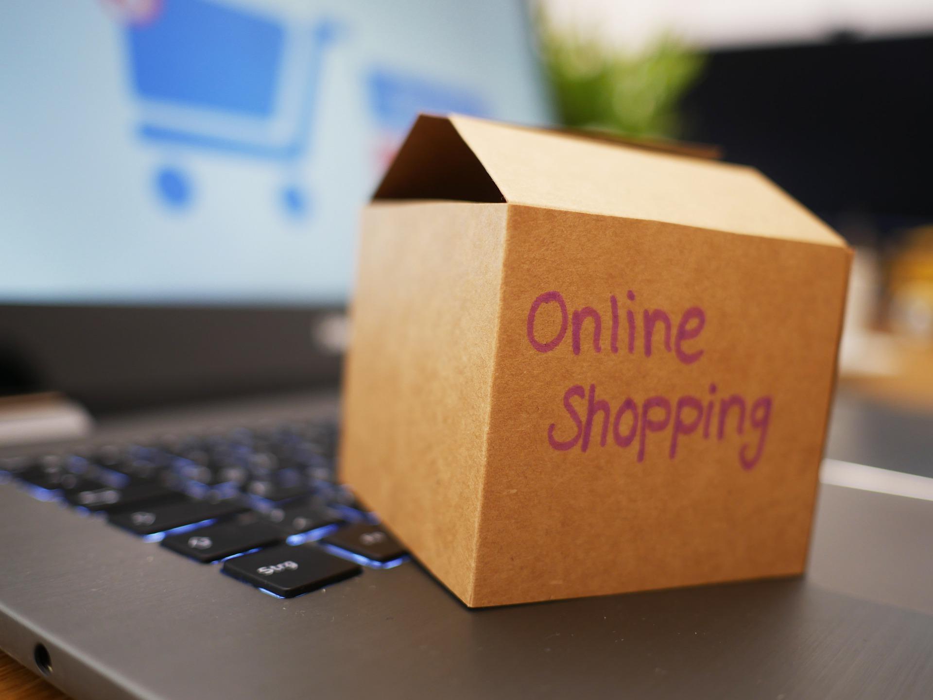 Symbolfoto Online Shop Amazon