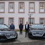 Dienstfahrten mit zwei umweltfreundlichen Elektroautos